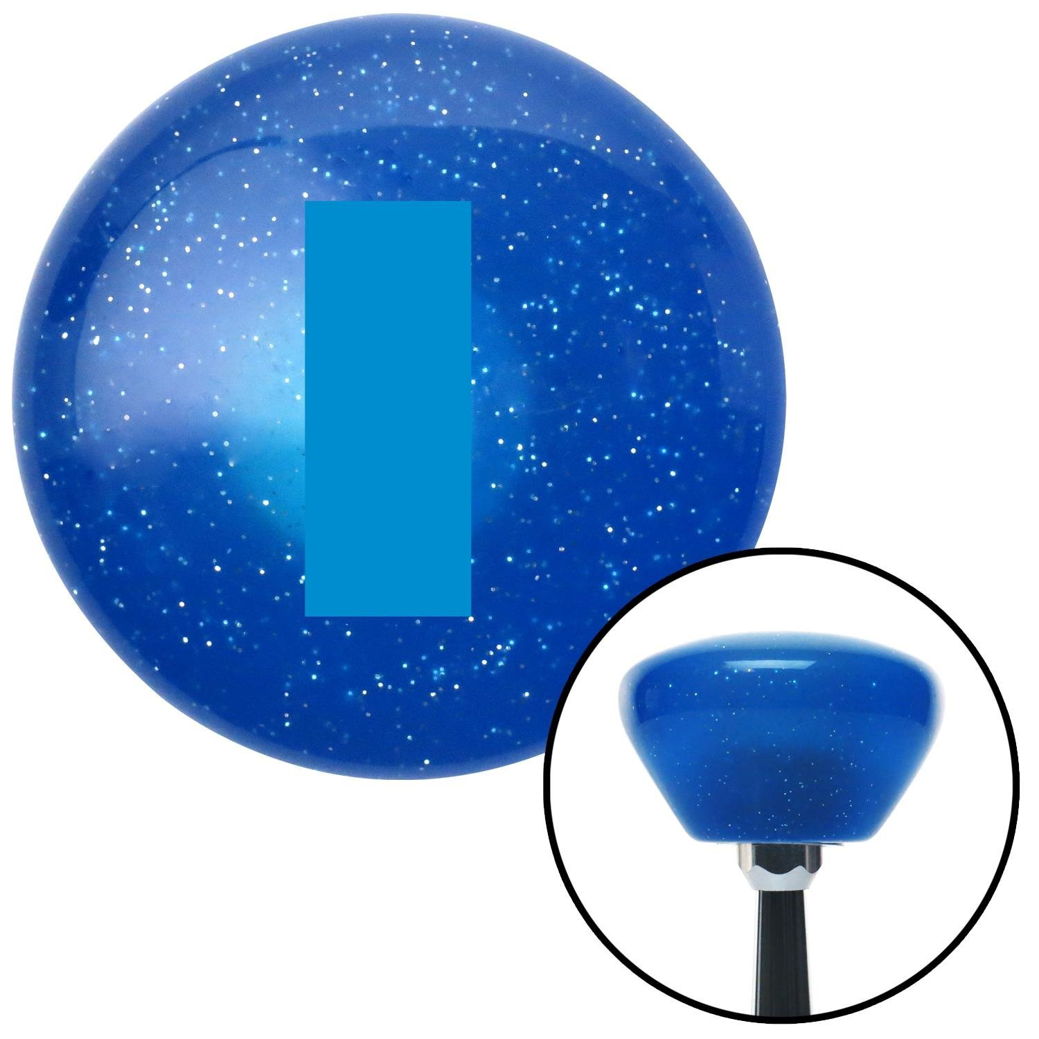 Blue Officer 01-2n Lt. and 1d Lt. American Shifter 186725 Blue Retro Metal Flake Shift Knob with M16 x 1.5 Insert