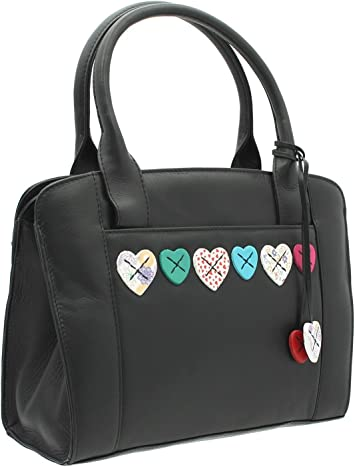 Mala Leather LUCY Collection Soft Leather Grab Bag With Shoulder Strap 732/_30
