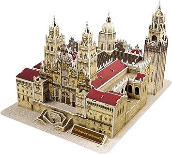 Pop Out mundo 3d Puzzle – mundo arquitectura serie
