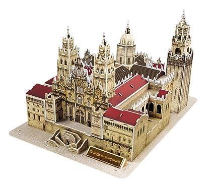 Pop Out mundo 3d Puzzle - mundo arquitectura serie