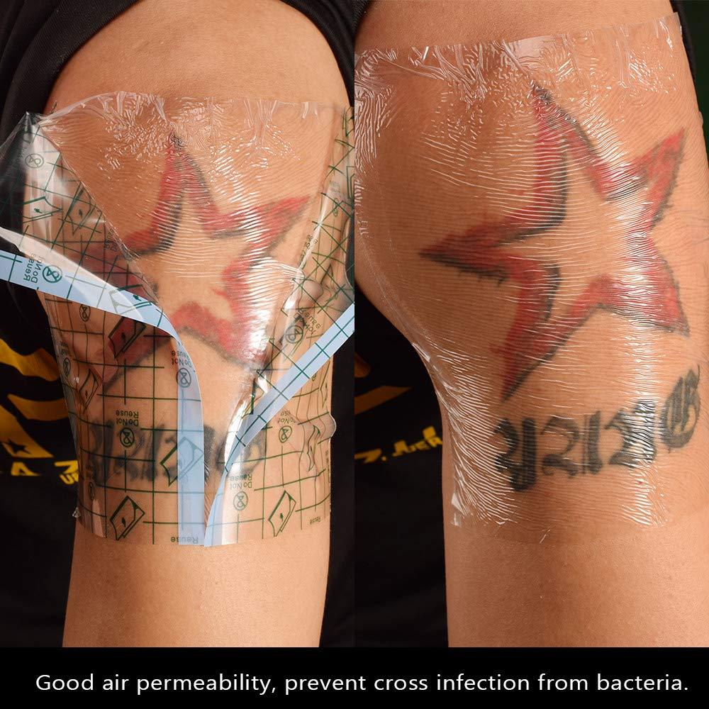 zroven 10 piezas Pegatinas de reparación de tatuajes Película de ...