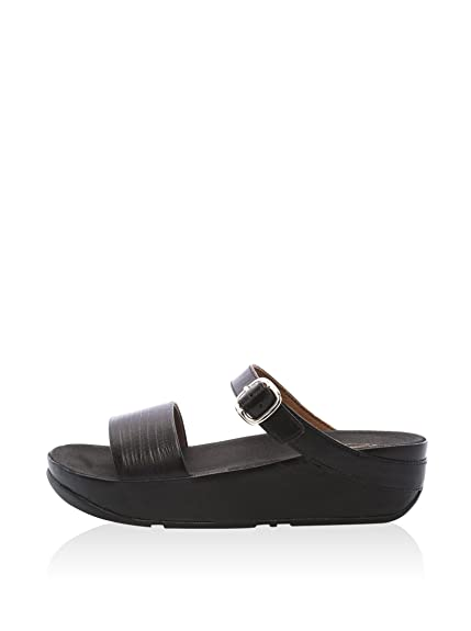 5fbb08befdfe84 Fitflop Sandals Souza TM All Black 40  Amazon.co.uk  Shoes   Bags