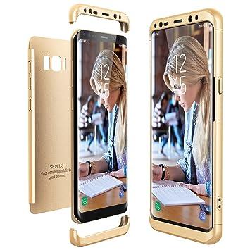Funda Samsung Galaxy S8 Plus / S8+, CE-Link Carcasa Fundas para Samsung Galaxy S8 Plus / S8+, 3 en 1 Desmontable Ultra-Delgado Anti-Arañazos Case ...
