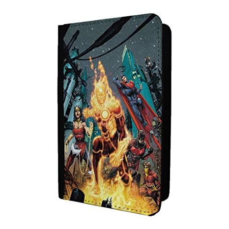 DC superhéroe de cómic del titular del pasaporte Funda – la Liga de la justicia DC