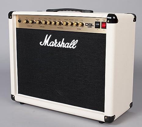 Marshall DSL40C Creme Special · Amplificador guitarra eléctrica ...