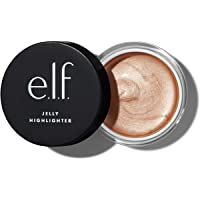 e.l.f. Jelly Highlighter, Smooth, Dewy & Versatile, Creates A Luminous Glow, Bubbly, 0.44 Fl Oz (13mL)
