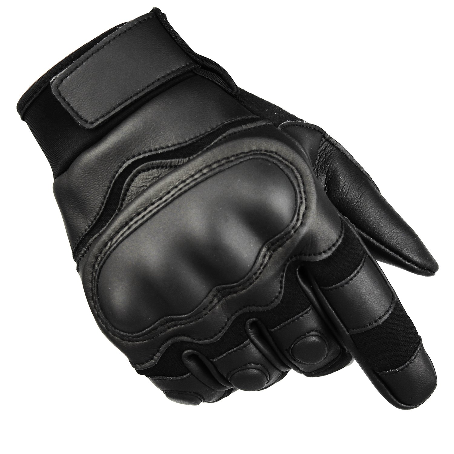 Fuyuanda Full Finger Glove Men`s Sports Outdoor Hard Knuckles Protection Screen Touch Mitten for Military Shooting Outdoor Cycling Riding Motorcycle Airsoft paintball
