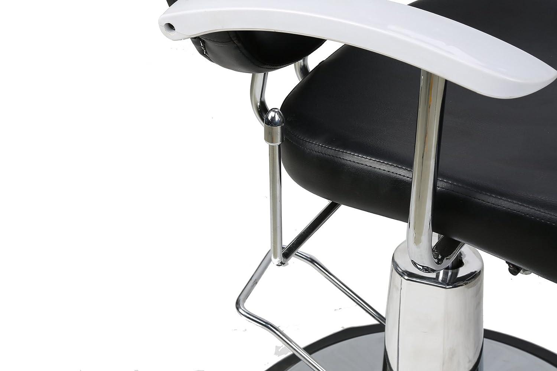 Amazon.com: BarberPub Classic Hydraulic Barber Chair Salon ...
