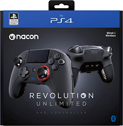 Nacon Controller Esports Revolution Unlimited Pro V3 Ps4 Playstation 4 Pc Wireless Wired Nacon 311608 Computers Accessories