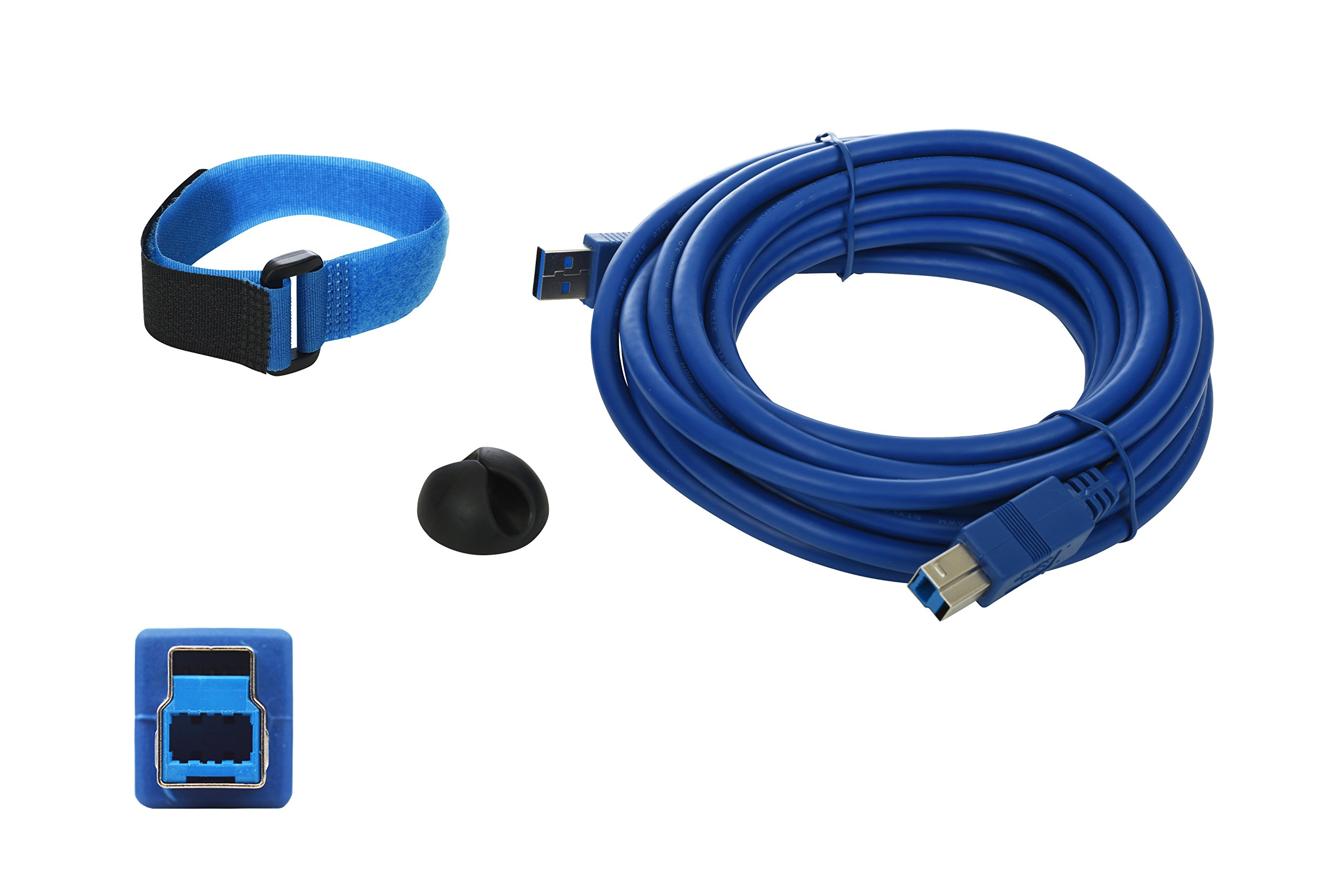Tether Tech TC85 Super High Speed AB USB 3.0 Camera Tether Cable - 15ft/4.5 Meters.