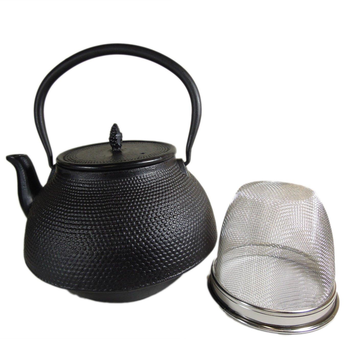 Cuisiland Large 2.5L Hobnail cast iron teapot