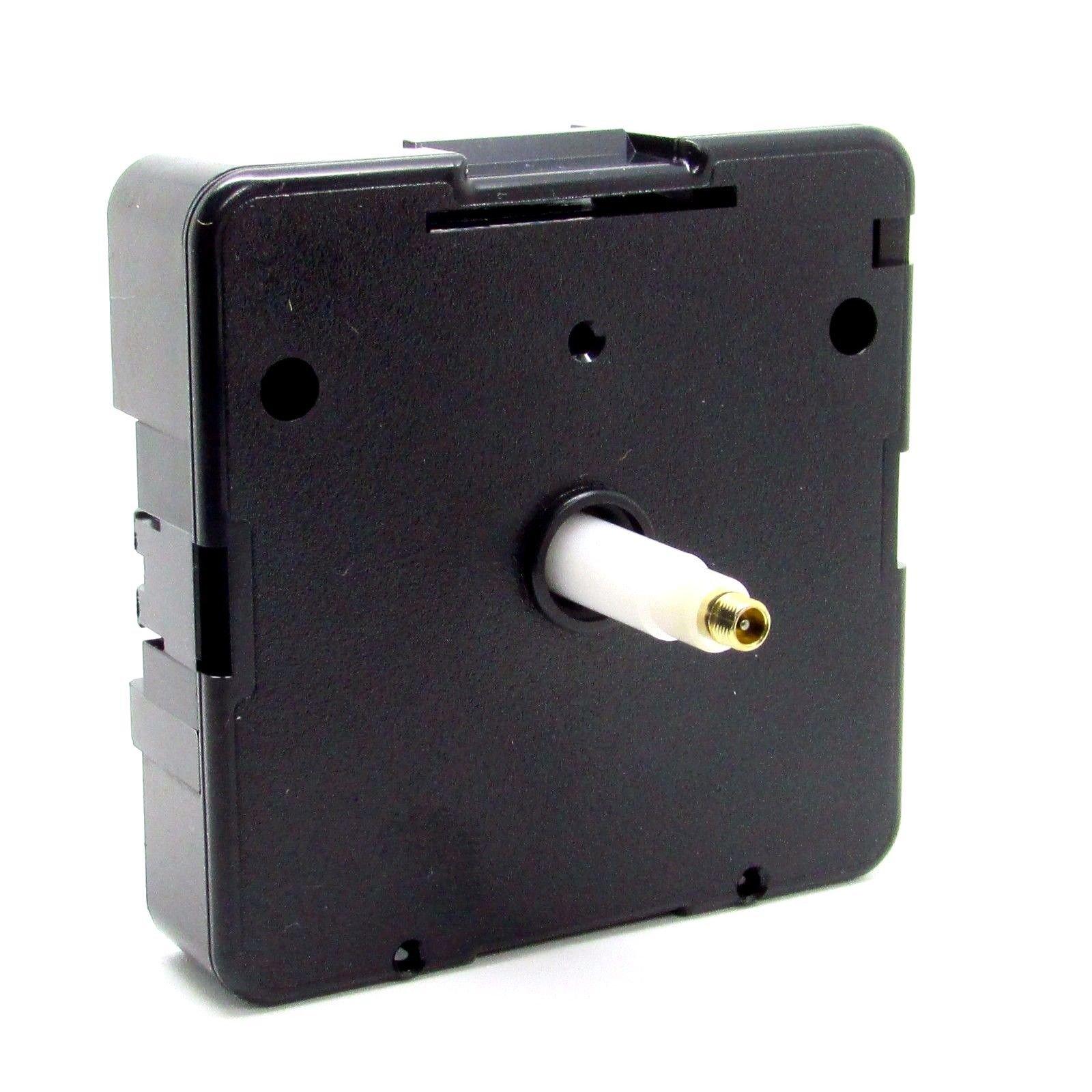 New Replacement UTS Quartz German Euroshaft Movement Mechanism Motor (20mm Shaft - Clock Faces 8-12mm Thick)