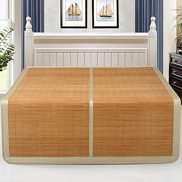 Colchoneta De Verano para Dormir Colchón De Bambú Fresco Colchón Doble De Seda Disponible Aire Acondicionado