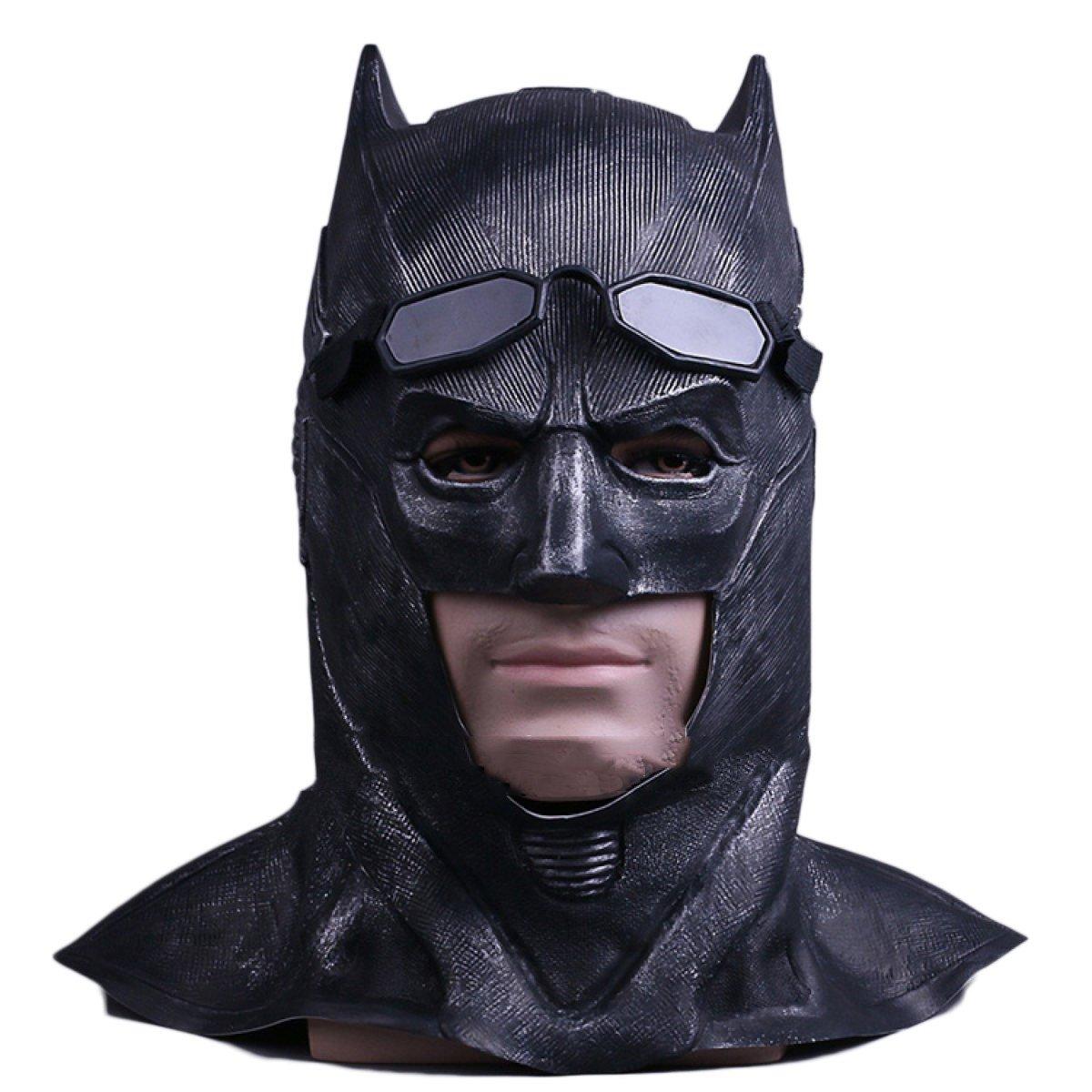 Todo en alta calidad y bajo precio. Cosplay Cosplay Cosplay Máscara Batman Máscara Justice Union Hood Halloween Masquerade Show Dress Bar Mask Props,JusticeLeagueBatmanHoodie-OneSize  ¡envío gratis!
