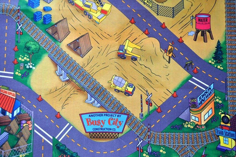 Construction Site Felt Play Mat