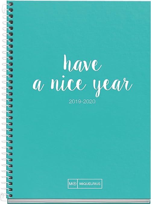 Miquelrius Agenda Escolar 2019 2020 Semana Vista Lettering ...