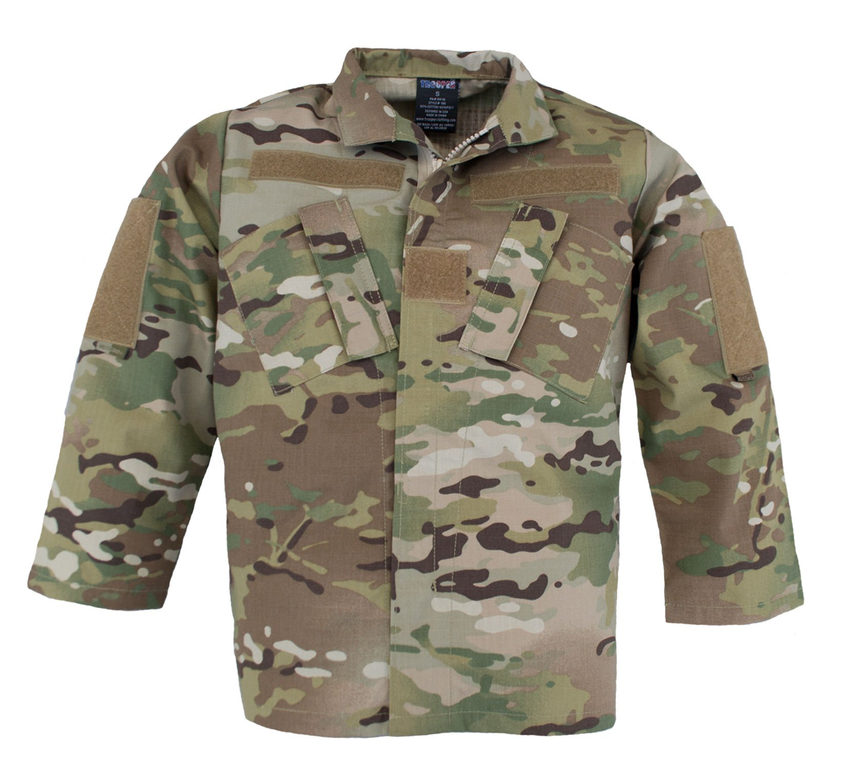 Trooper Clothing Kids Multicam Uniform Jacket - Medium (10-12)