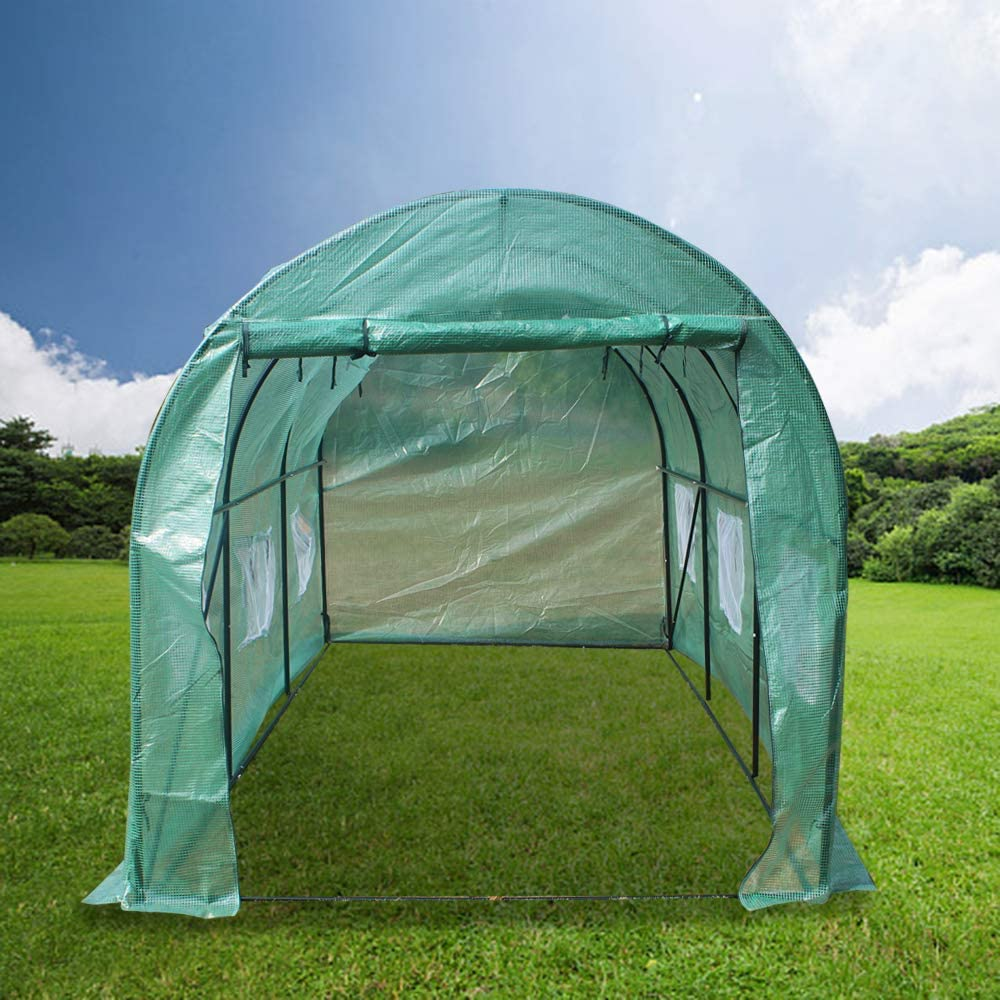 GOODUP 15′x7′x7′ Heavy Duty Greenhouse Plant Gardening Home Greenhouse Tent
