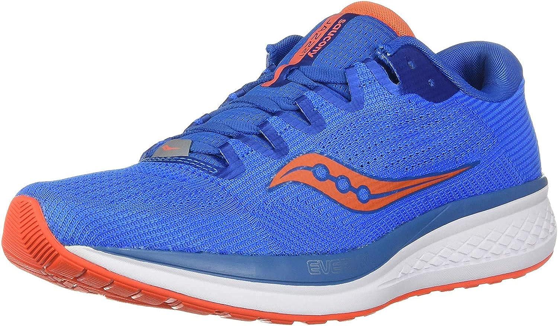 Saucony Men's Jazz 21 Competition Running Shoes Blue Blue Orange 36