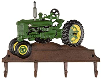Kleiderhaken Traktor Wandgarderobe Garderobe Fahrzeug Eisen Antik-Stil 35cm b Antique Furniture
