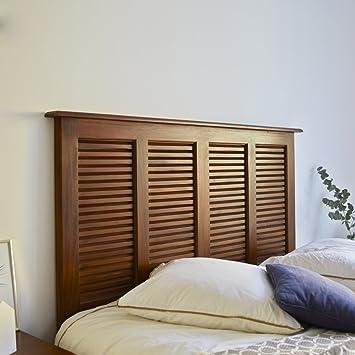 Kopfteil für Bett Bettkopfteil 160 aus Mahagoni Doppelbett ...