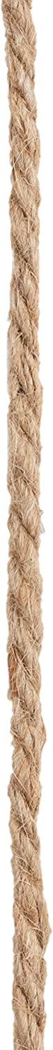 Gift Packing Thick Twine String for DIY Crafts Genie Crafts 5mm Natural Jute Hemp Rope 100 Feet