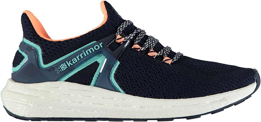 Karrimor Mujer Resolve Zapatillas De Running Navy/Coral 42: Amazon.es: Zapatos y complementos