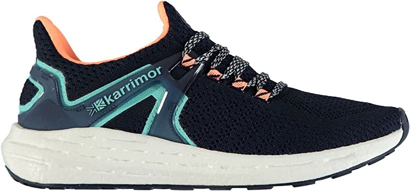 Karrimor Mujer Resolve Zapatillas De Running Navy/Coral 42: Amazon.es: Zapatos y complementos