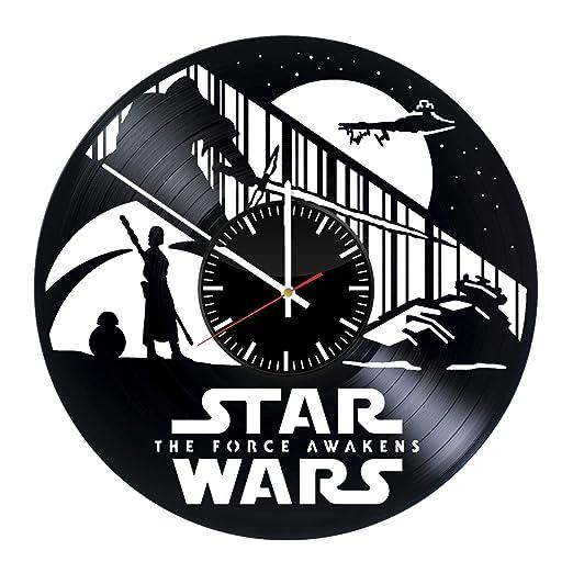 Star Wars reloj de pared vinilo registros - regalo original ...