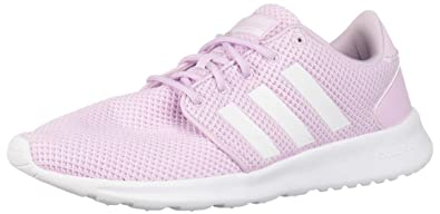 1b708aa50954 adidas Womens Cloudfoam QT Racer Low Top Lace Up Walking Shoes ...