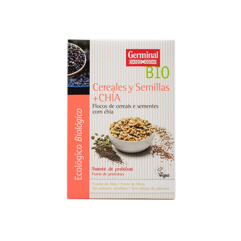 Germinal Copos de Cereales y Semillas de Chía - 250 gr: Amazon.es: Alimentación y bebidas