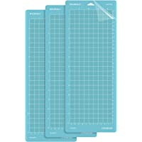 DOOHALO Cutting Mat for Cricut Joy Machine 3 Pack Replacement Adhesive Cut Mats for Cricut Joy Blue Color for LightGrip