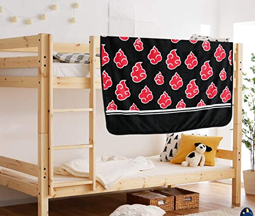 Naruto red cartoon coral fuzzy Blankets anime quilt rug small blankets new