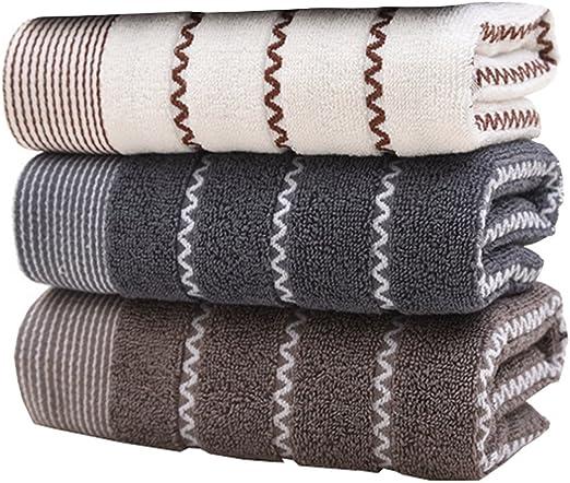 Juego de toallas de mano de algodón (3 unidades, 14 x 30 pulgadas ...