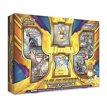 Pokémon TCG: Alolan Raichu figura caja: Amazon.es: Juguetes ...