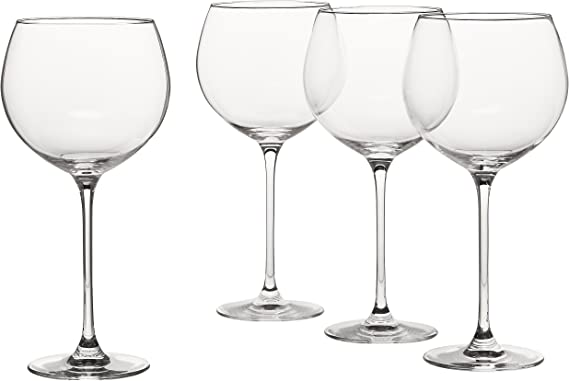 Lenox 6099808 Tuscany Classics 4pc Beaujolais Wine Glass