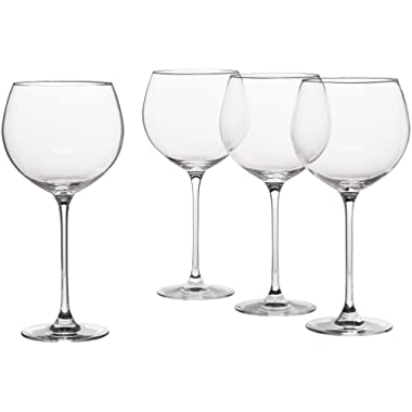 Lenox L6099808-000 Tuscany Classics Grand Beaujolais (Set of 4), Clear