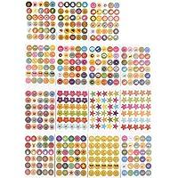 ewtshop® 5400 beloningsstickers, Teacherstickers, motivatiestickers, leuke stickers voor kinderen, volwassenen en…