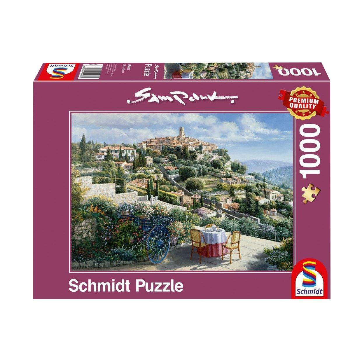 St. Paul Paul de Vence - Puzzle Sam Puzzle Park St. 1000 Teile B074TP853S, ヤマギワ (yamagiwa ):627a6ba9 --- sharoshka.org