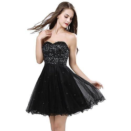 Short Black Prom Dress: Amazon.com