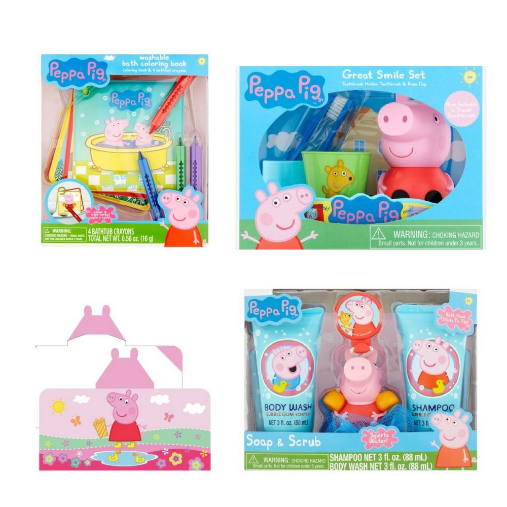 Amazon.com: Peppa Pig Toothbrush, Toothbrush Holder, Rinse Cup, Soap ...