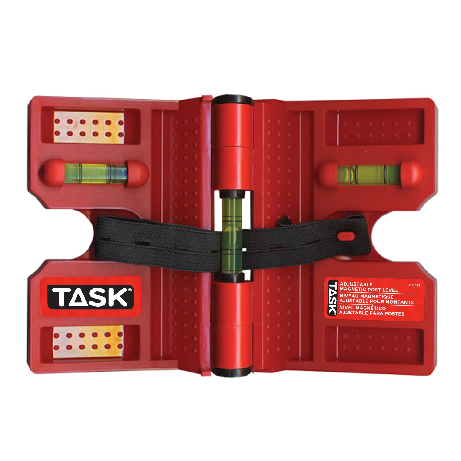 Task Tools T58058 Adjustable Magnetic Post Level
