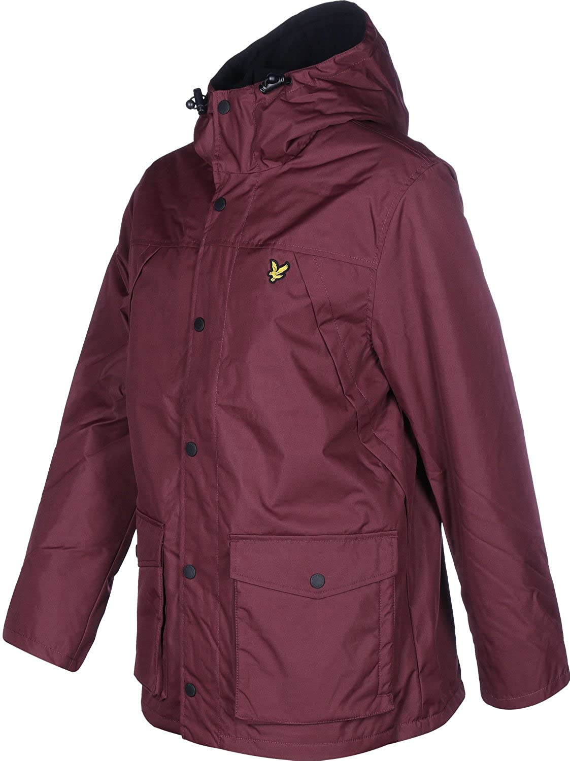Lyle & Scott Micro Fleece Lined Mens Jacket at Amazon Mens Clothing store: