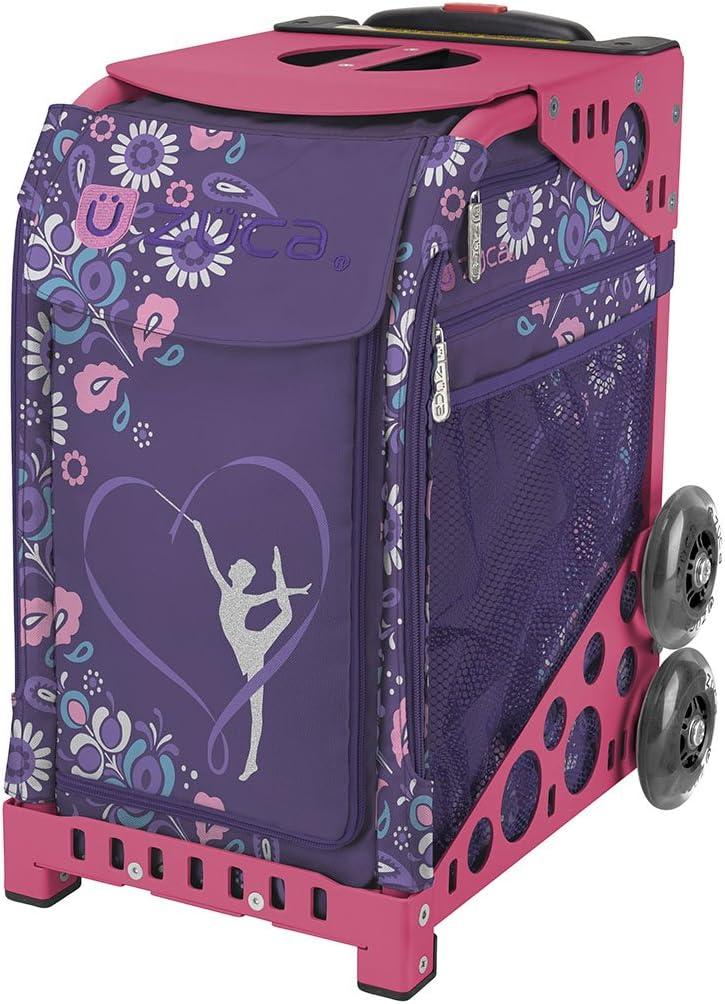 ZUCA 「体操競技用スポーツインサートバッグ - フレームカラーを選択 ピンク