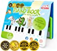 BEST LEARNING My First Piano Book - Educational Musical Toy for Toddlers Kids Ages 3 Years and up - Ideal  Boys and Girls