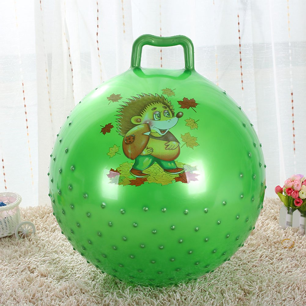 Space Hopper Ball for Kids,Teenagers and Adults,Inflatable Sensory Ball Jumping Bounce stress ball Children Health Care toy PVC Balance Balls for Boys & Girls Christmas party (the ball diameter about   B076KCYGCL