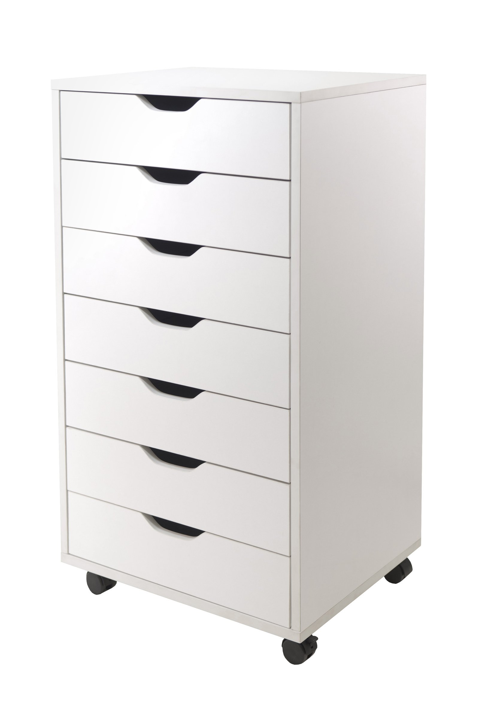 Winsome Halifax Cabinet for Closet/Office, 7 Drawers, White by Winsome