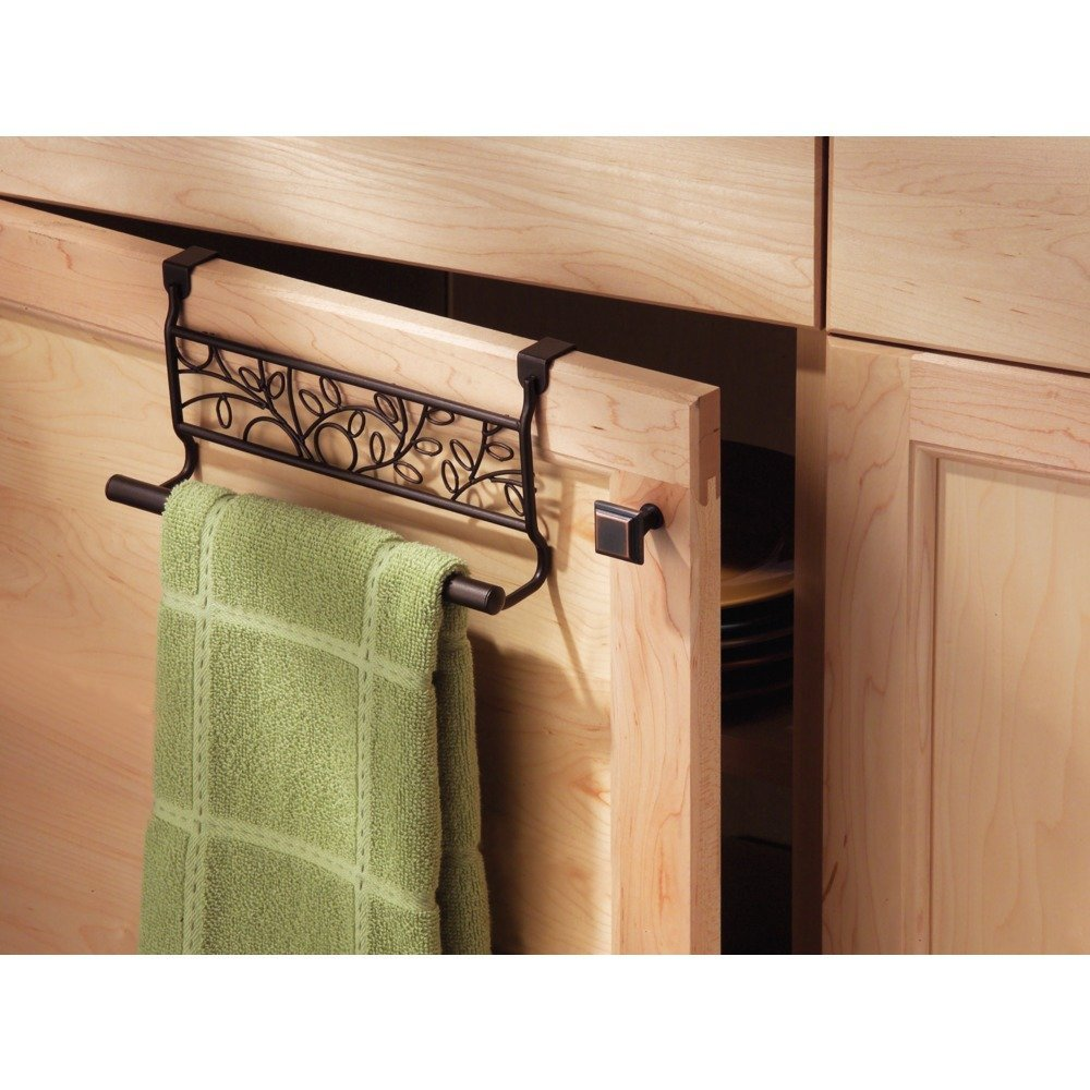 Amazon.com: InterDesign Twigz Over-the-Cabinet Kitchen Dish Towel ...