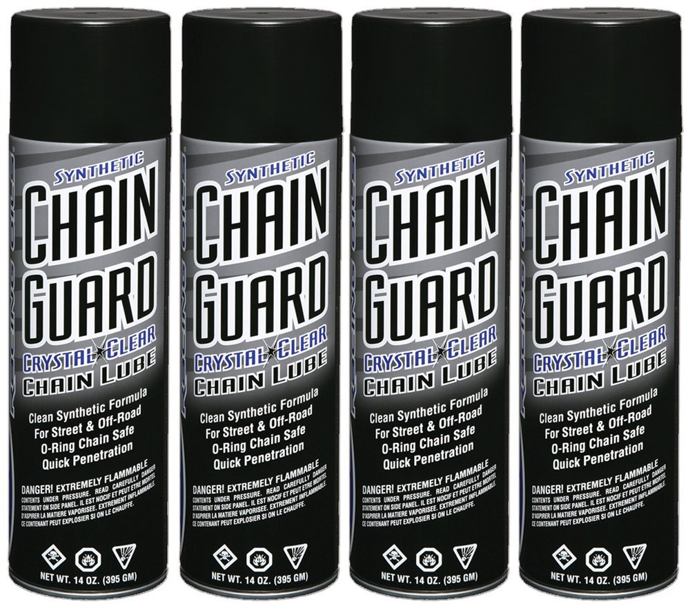 Maxima Racing Oils 77920-4PK Synthetic Chain Guard 14 oz, 4-Pack, 54. Fluid_Ounces by Maxima