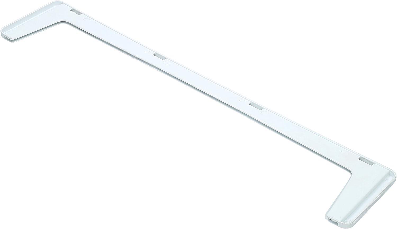 ?WESSPER® Barra de placas de vidrio Frigorífico Congelador para Indesit BAN34NFP (Longitud: 510mm, Frente)